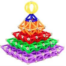 Magnetic Toys Bars Sticks Building Blocks Set Kids Educational For Children Magnets figure kids toy Christmas Gift