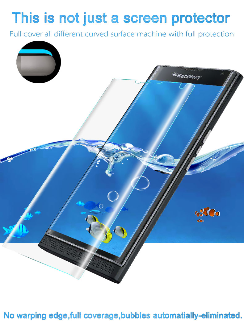 IMAK Clear Soft Explosion-proof Protective Film for BlackBerry Priv Venice  Film Wearproof Screen Protector