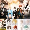 Anime Game Mystic Messenger Cosplay Wig  Han Jumin /ZEN / 707 / V / Yoosung /  Kang Jaehee / Searan  Role Character Hair Wigs