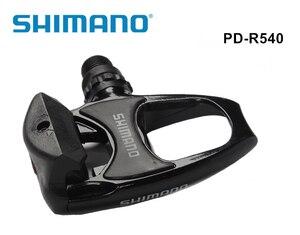 Image 1 - Pédales automatiques de vélo PD R540, SPD, avec pièces de vélo de route