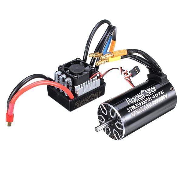 Racerstar 4076 Brushless Waterproof Sensorless Motor 2000KV 120A ESC For 1/8 Cars RC Car PartsRacerstar 4076 Brushless Waterproof Sensorless Motor 2000KV 120A ESC For 1/8 Cars RC Car Parts