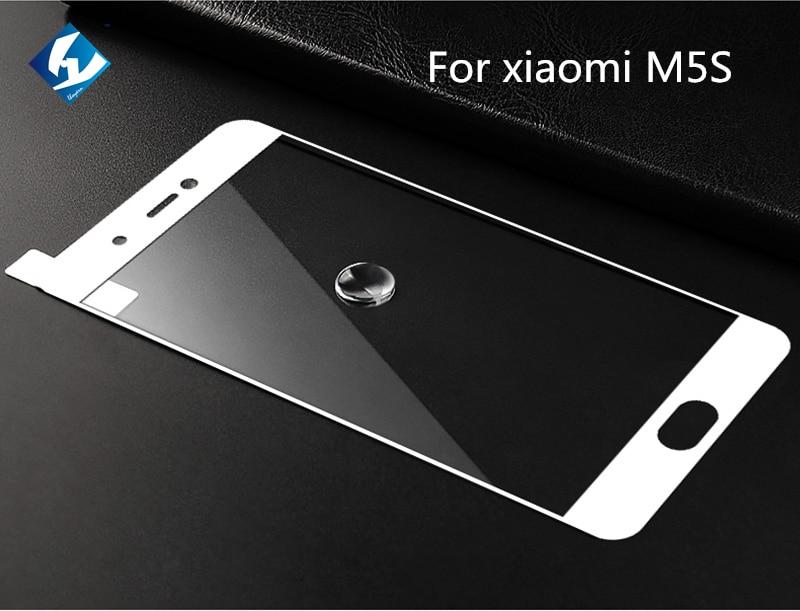 bilder für 10 teile/los 9 H Vollbild Gehärtetem Glas Für Xiaomi Mi 5 s Schutzfolie 0,26mm Für M5s MI5s 5,15 zoll Nano Beschichtung Schutz