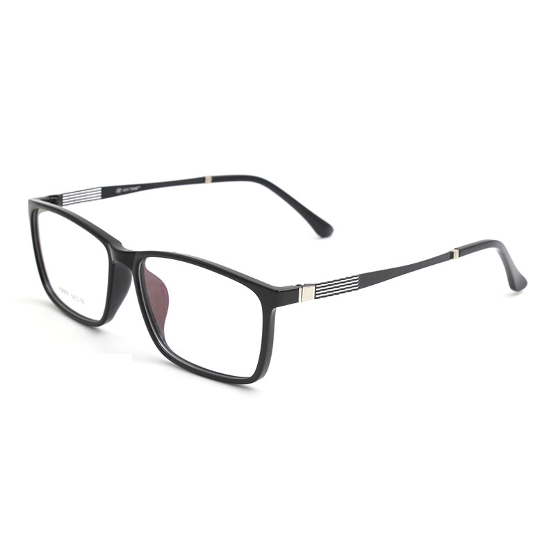 TR 90 Plastic Eyewear Frame Men Fashion Optical Myopia Prescription Clear Computer Eyeglasses Frame X2007 Frame Spectacles in Men 39 s Eyewear Frames from Apparel Accessories