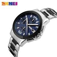 SKMEI Business Mens Watches Top Brand Luxury Watch Men 3Bar Waterproof Casual Quartz Wristwatches Relogio Masculino 9126