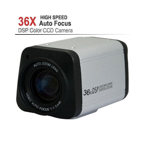 COMS 1200TVL 36X Optical Zoom DSP Color Video AHD Box Camera Auto Focus / AHD Camera for AHD DVR