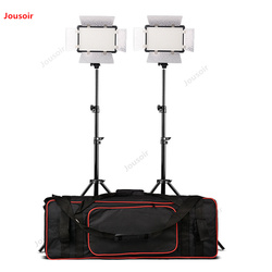 LED308II constant light camera soft light shed lamp DV host complement the video video led two-light set CD50 T07