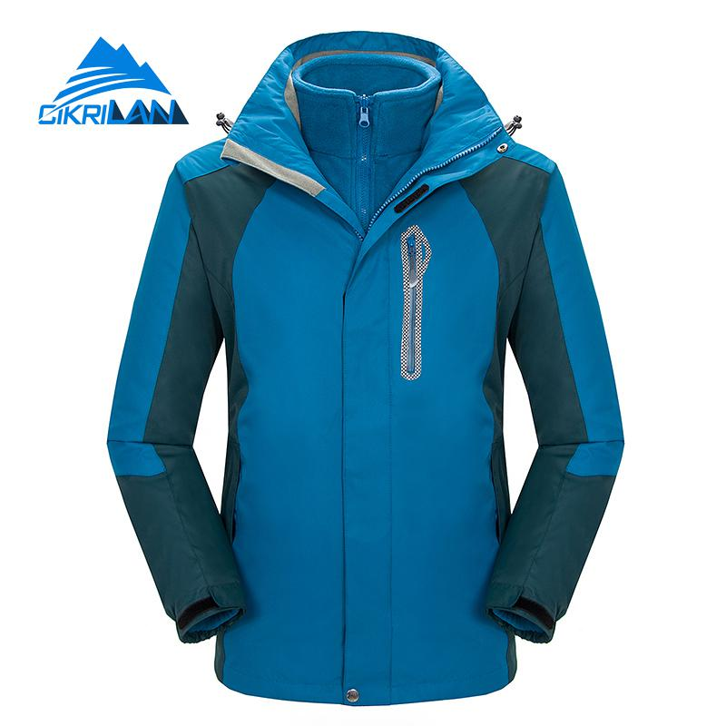 Mens Windbreaker Waterproof Outdoor Snowboard Skiing Winter Jacket Men Camping Hiking Fishing Coat Climbing Jaqueta Masculina