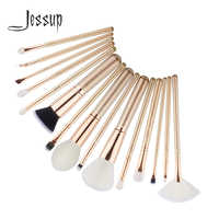 Jessup pennelli 15pcs Spazzole di Trucco maquiagem profissional completa Contour Eyeshadow Liner Fan Blender Spazzole T404