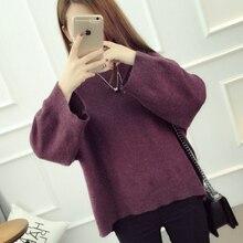 Kesebi 2018 Autumn Winter New Fashion Women Casual Long Sleeve Thick Oversize Sweaters Female O neck