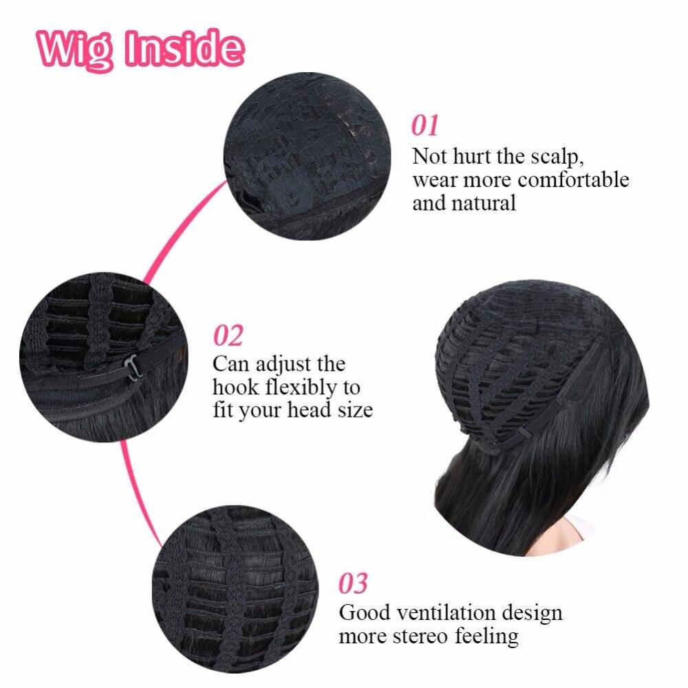 Deyngs Pixie Αποκοπή Ευθεία Συνθετική - Συνθετικά μαλλιά - Φωτογραφία 5