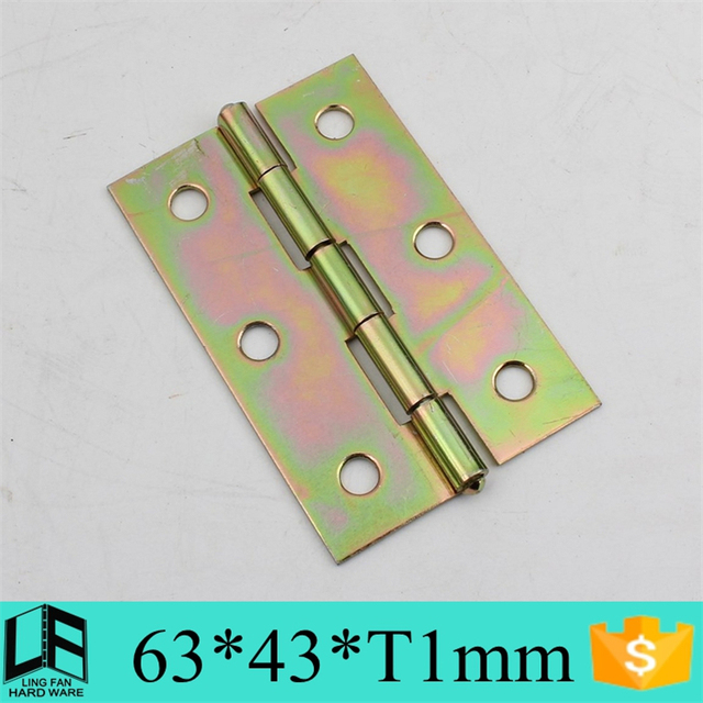 Furniture Hinge Type Cabinet Hardware Hinges , Small Hinges 2.5 Inch