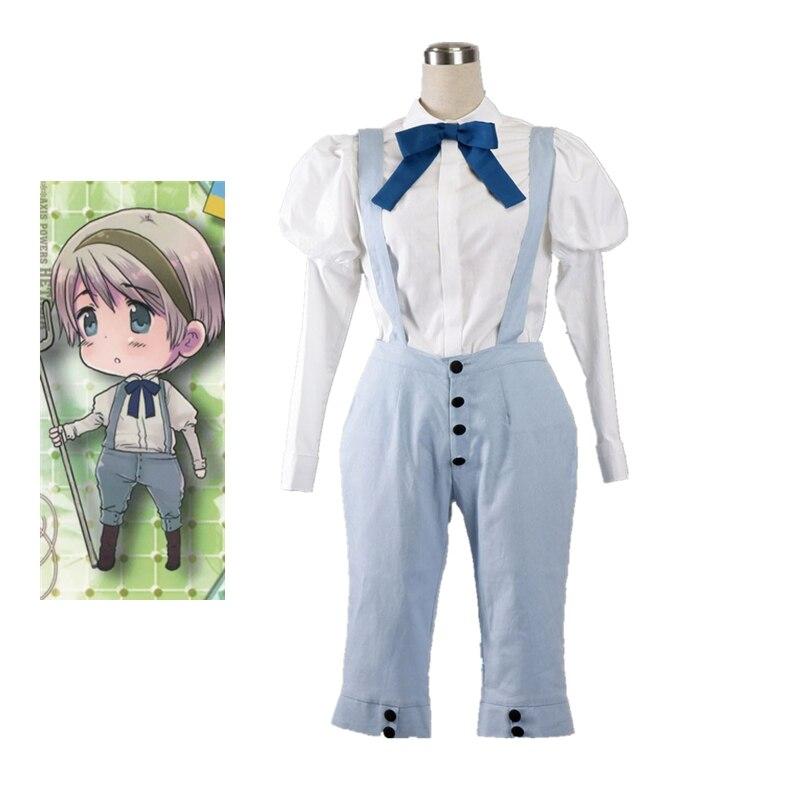 Anime APH Axis Powers Hetalia Ukraine Cosplay Uniform Suit Halloween Costume Custom Made