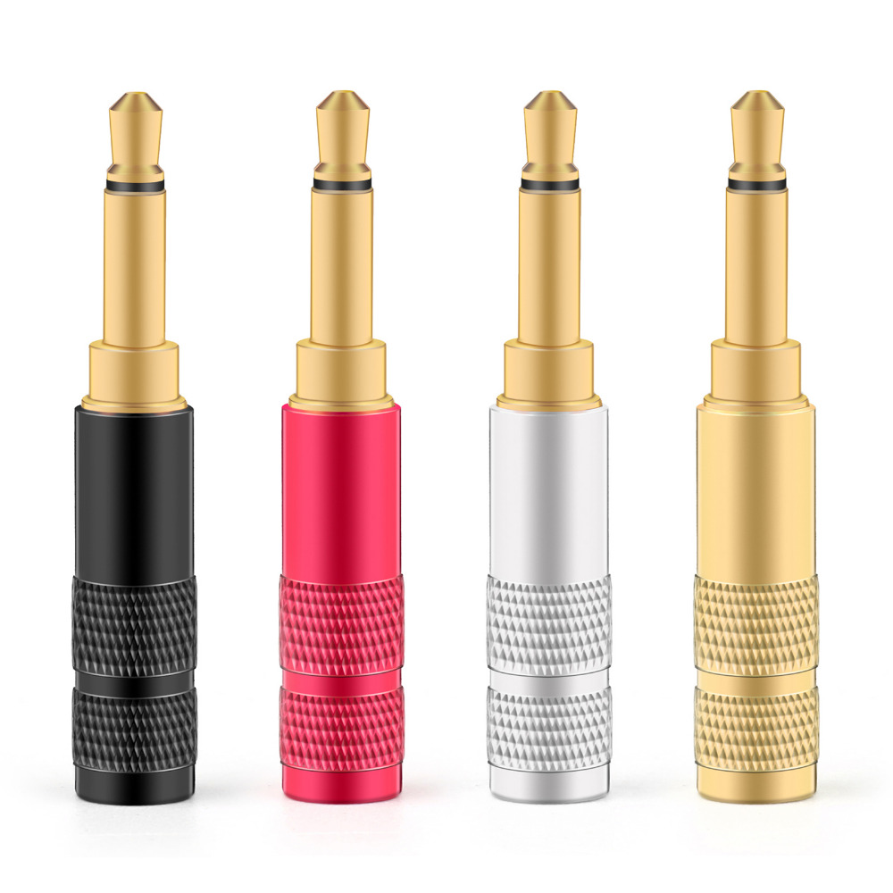 Areyourshop 3.5mm 2 Pole TS Mono Plug Male MINI Connector For Headphone Adapter Colorful Wholesale Plug Jack ConnectorAreyourshop 3.5mm 2 Pole TS Mono Plug Male MINI Connector For Headphone Adapter Colorful Wholesale Plug Jack Connector