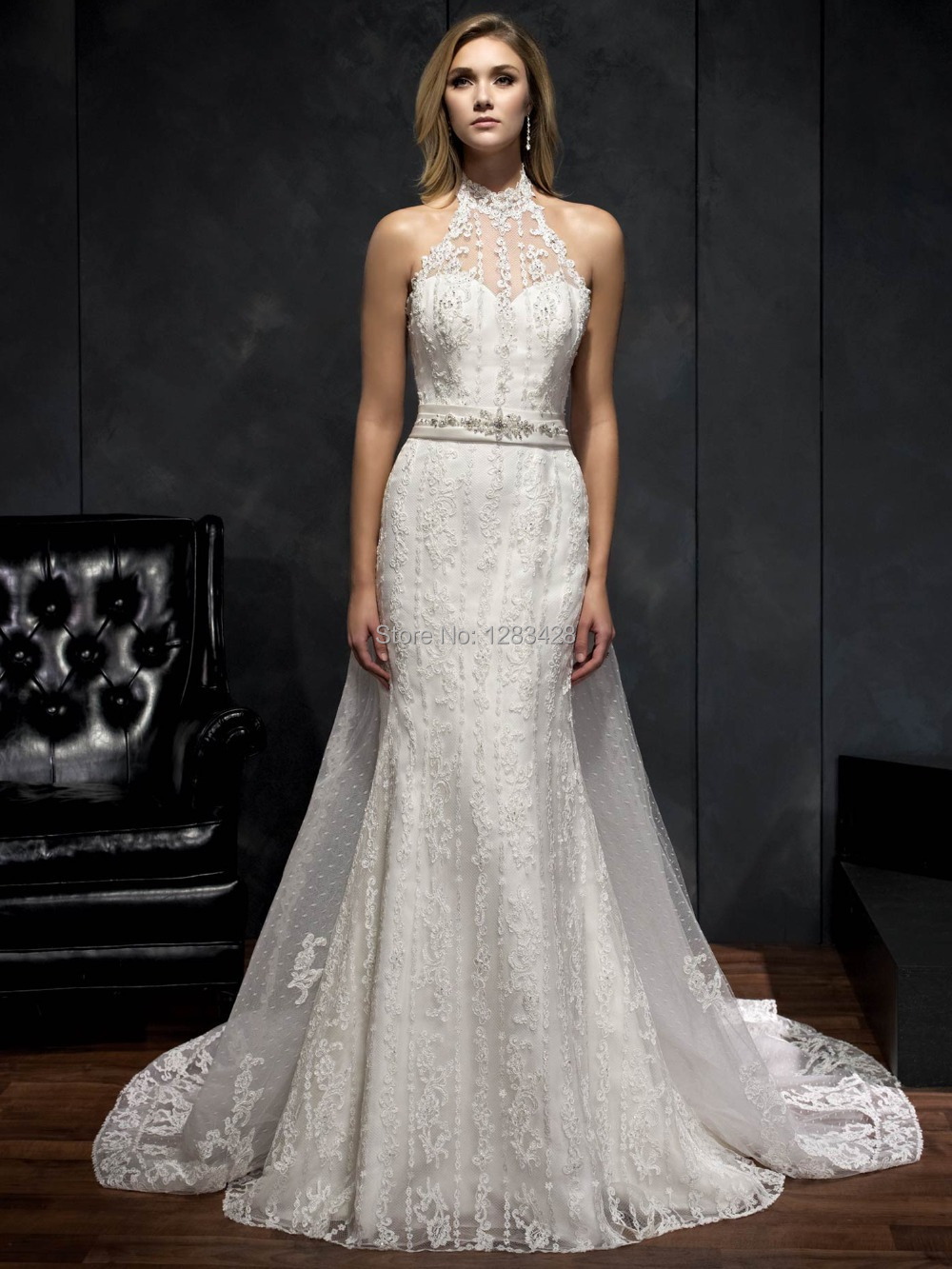 lace halter top wedding dress halter top wedding dresses Wedding Dress From Reliable Celeb Suppliers Aliexpress Com Sleeveless Lace Long Train Low Back Halter