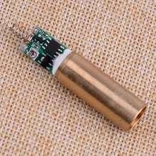 LETAOSK 532nm 50mw Green Laser DOT Module Diode with Light Free Driver & Spring For LAB Steady Working 3V Lifepan 5000hours