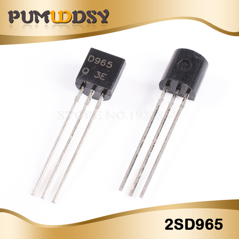 100PCS 2SD965 TO-92 D965 TO92 New Original Free Shipping IC