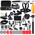 Gopro accessories 50-in-1 Sport Action Camera Accessories Kit for Gopro HERO 1 2 3 3 + 4 5 SJ4000 SJ5000 Waterproof video camera