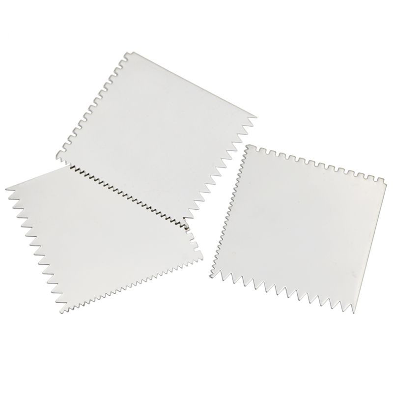Stainless Steel Square Tooth Shape Pottery Clay Sculpture Carving Tool Super High Quality