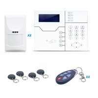 2017 Лидер продаж сигнализации дома ST VGT сенсорный экран сигнализации клавиатуры Управление Панель с RFID клавиатуры и открытый вспышки сирена,
