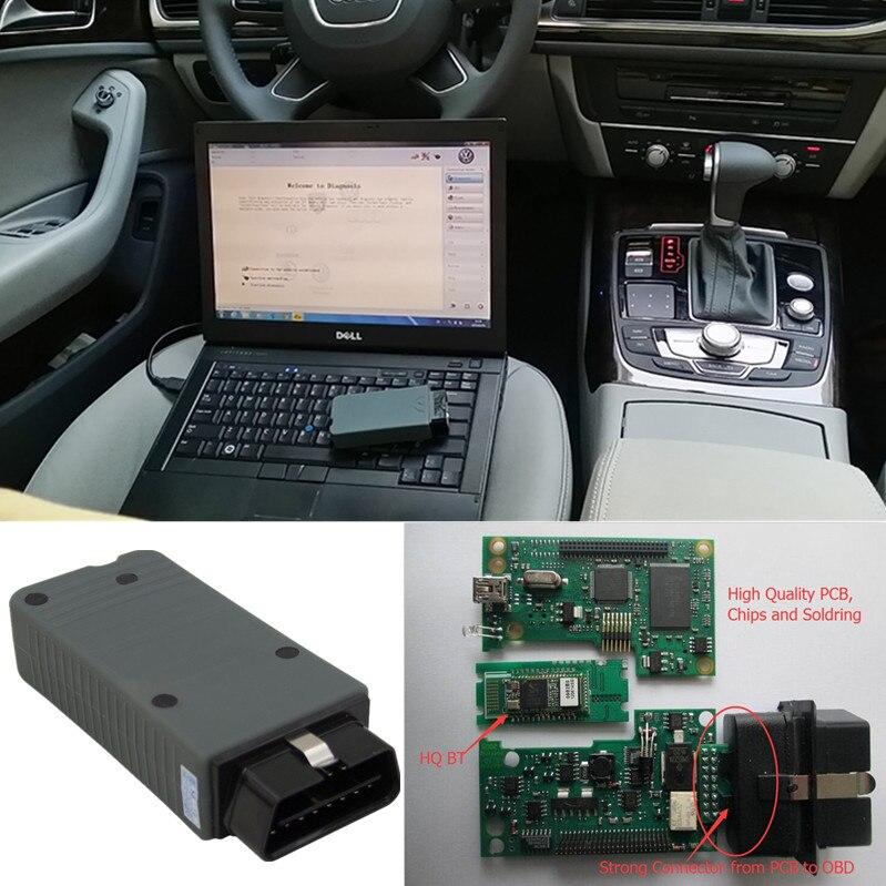 Цена за Высокое Качество VAS 5054A VAS5054A Bluetooth Diagnotic Инструмент С OKI Чип Полный OBD2 Сканер Для VAG Автомобилей 2 Года Гарантии