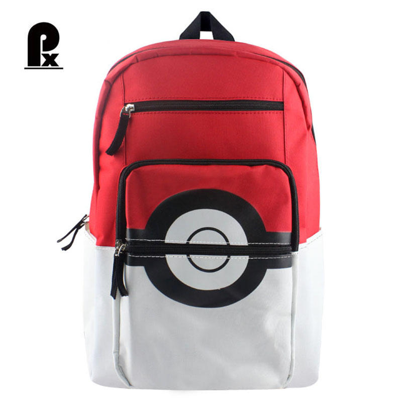 Pacento Pokemon Backpack School Children Schoolbags for Teenager Shoulder Bags Pocket Monster Anime Backpack Back To School Pack