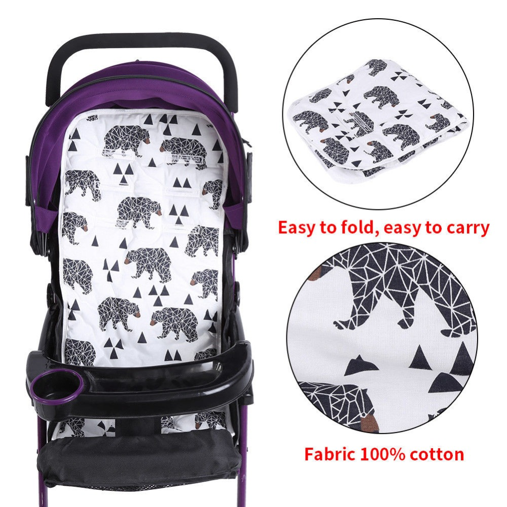 Miracle Baby Stroller Pad Mat Child Cart Seat Cushion Stroller accessories Trolley Soft Mat Breathable Pram Pad Seat Cushion baby stroller winter pad general soft seat cushion child cart seat mat kids pushchair cushion for 0 18m stroller accessories