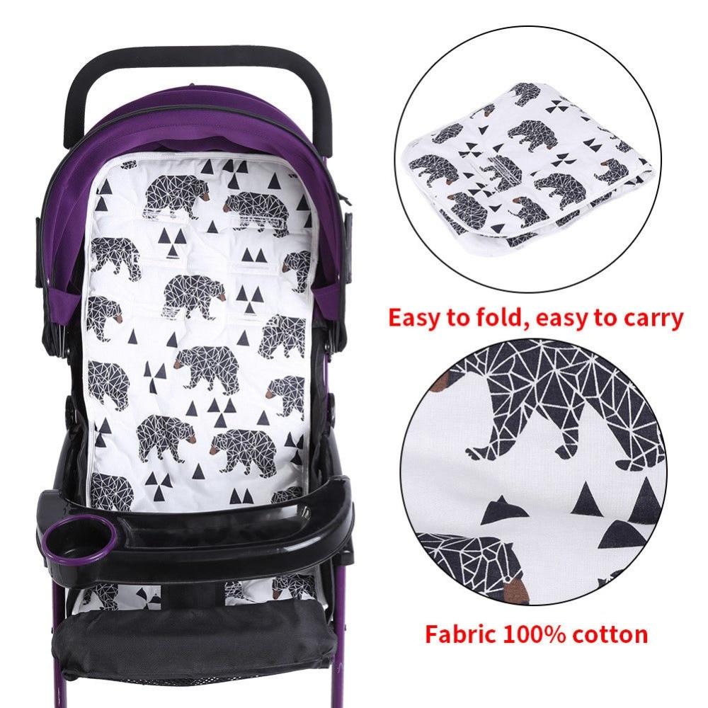 Baby Kinderwagen Sitzkissen Pad/ /Buggy Sitzkissen/ /Kinderwagen Matte Kinderwagen Zubeh/ör 32/x 80/cm /Kind Warenkorb Sitzkissen/