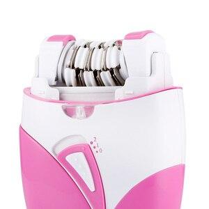 Image 3 - Épilateur électrique Rechargeable avec port USB pour femme, pour épilation, rasage