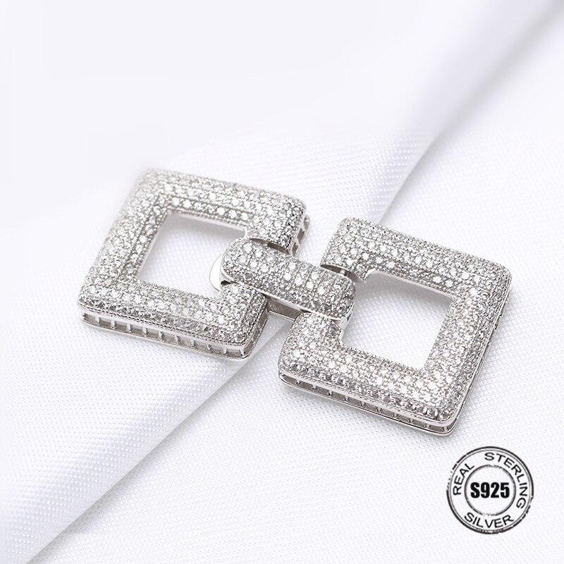 Argent creux coeur modèle connecteur charme Zircon pendentif accessoires pour femmes perles gland bijoux bricolage fabrication