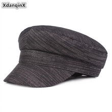 Military-Hats Cap Flat-Caps Army Fashion Women's Xdanqinx for Snapback Red Female Sombrero-De-Mujer
