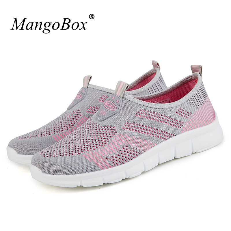 Women Running Shoes Summer Breathable Cheap Sneakers Slip on Ladie Runners Lightweight Athletic Shoes for Walking