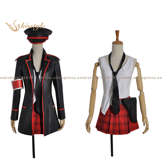 Kisstyle Fashion VOCALOID Hatsune Miku Concert Army Military Uniform COS Clothing Cosplay Costume,Customized Accepted
