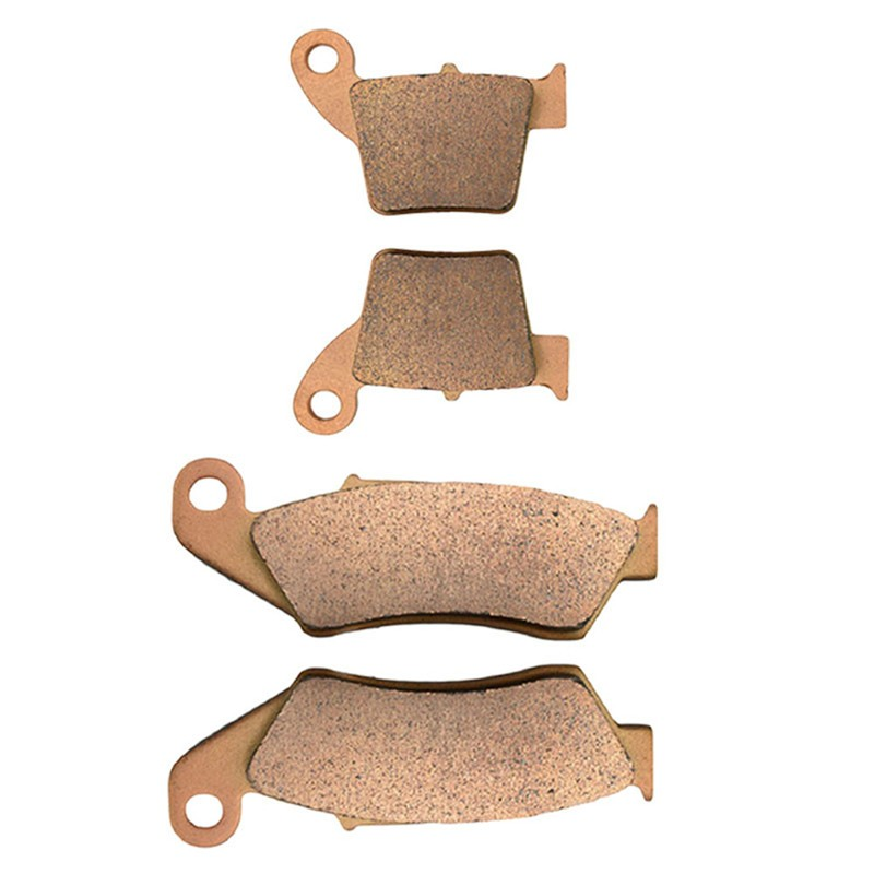 Motorcycle Front and Rear Brake Pads for HONDA CRF450R CRF450X CRF450 R / X 2002-2009 Sintered Brakes Pads 180 16 9 fast fold front and rear projection screen back