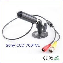 bullet sony ccd 700tvl mini cctv security camera with bracket