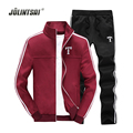 Jolintsai Autumn Sweat Homme Swestershirt casual Men Sportwear Tracksuit Men 2017 XXXXL Hoodies Set Moleton Masculino