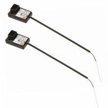De Flysky 2 Unids FS-A3 AFHDS2A 2.4G 3CH Transmisor Receptor para GT2E GT2G Negro