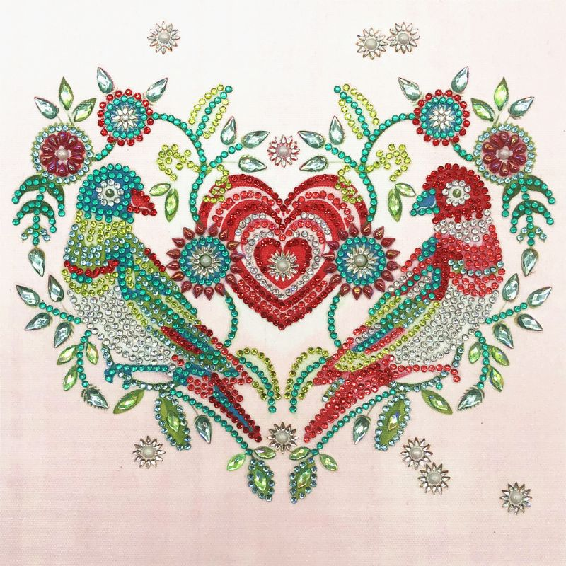 5D Diamond Painting DIY Rhinestone Embroidery Picture Cross Stitch Kit Bird