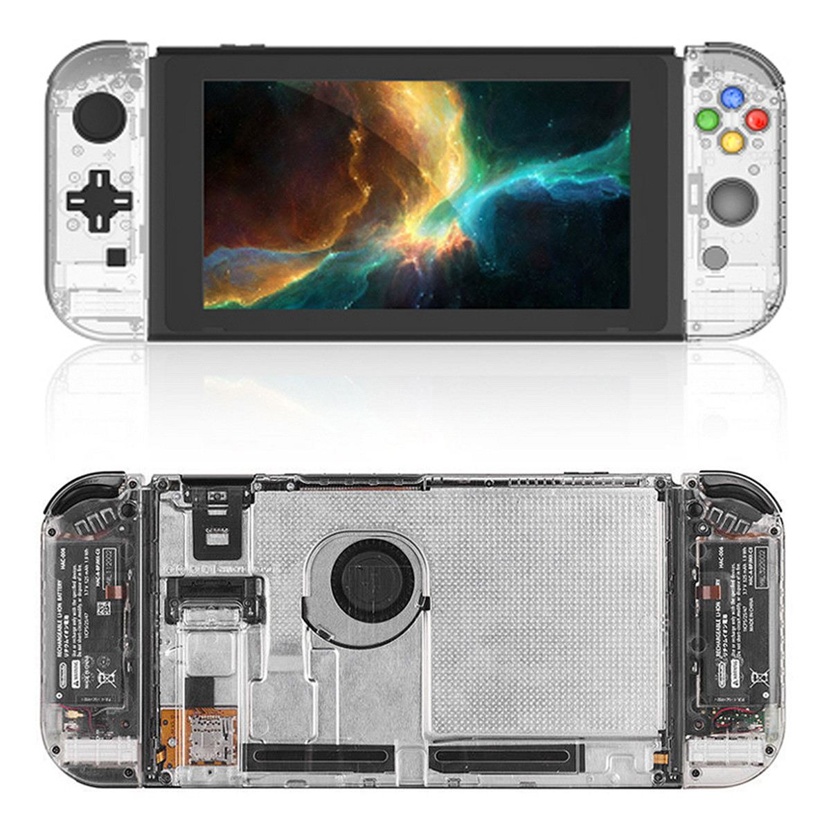For Nintend Switch Full Set Replacement Housing Shell Case Hnaldheld Game Console Protective Case For Joy-con Controller bossa nova bossa nova толстовка крутозавр с капюшоном хаки