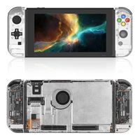 For Nintend Switch Full Set Replacement Housing Shell Case Hnaldheld Game Console Protective Case For Joy