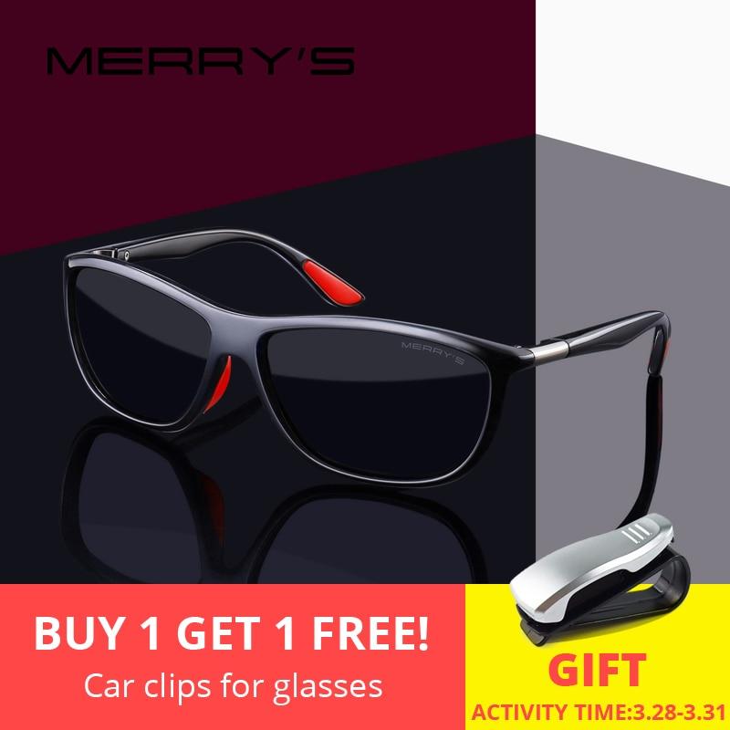 MERRYS DESIGN Männer HD Polarisierte Sonnenbrille Sport Angeln Brillen UV400 Schutz S8310