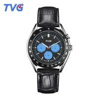 TVG Brand 2017 Newest Watch 50m Waterproof Fashion Quartz Watch Business Quartz watch Men Wristwatch Relogio Masculino Relojes