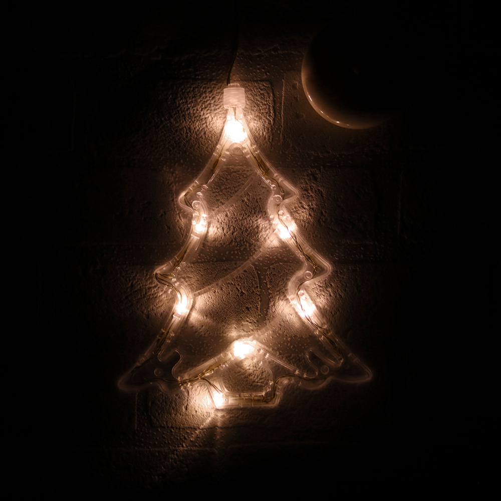 Aimbinet LED Glass Window Sucker Lamp Christmas Decorative For Home New Years Day Holiday Light