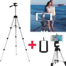 Алюминиевый штатив для камеры + держатель для телефона + нейлоновая сумка для переноски для смартфона iPhone samsung
