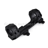 GE Hunting Rifle Scope Mount Optic 1 / 30mm Diameter Rings AR15 M4 M16 with Bubble Level Fit Weaver Picatinny Rail 20mm