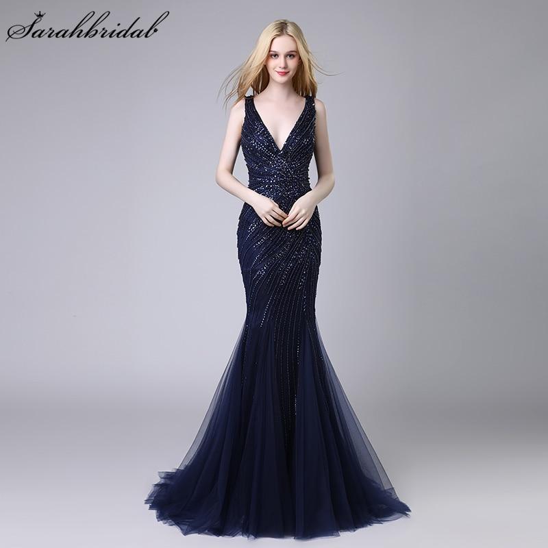 Robe De Soiree 2018 Nuevas llegadas Elegantes vestidos largos de - Vestidos para ocasiones especiales