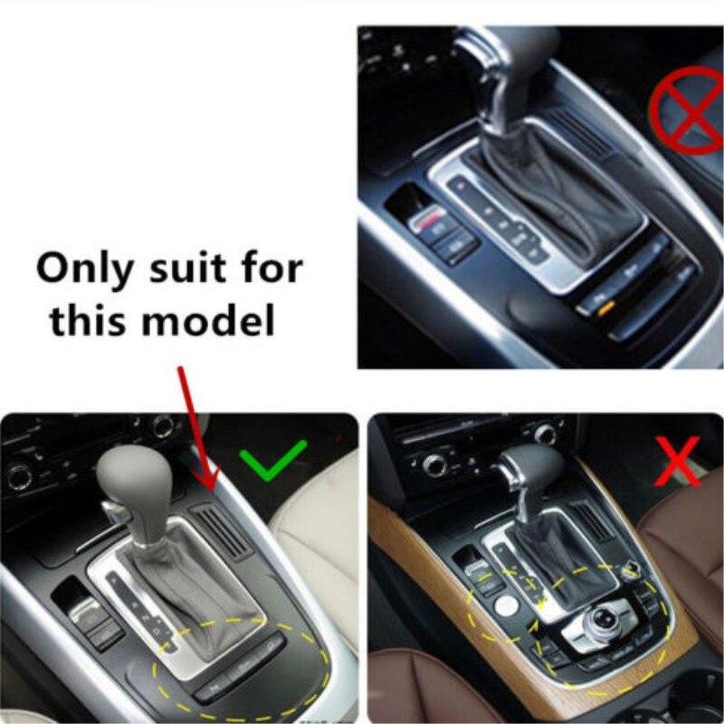 For Audi A4 B8 A5 2012 2013 2014 2015 2016 2017 Carbon Fiber Car Center Console Gear Shift Panel Decoration Cover Trim Styling