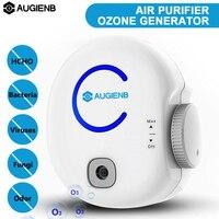 AUGIENB Portable Odor Eliminator Plug In Ionic 0 50mg 100 240V Air Purifier & Ozone Generator O3 Disinfector Deodorizer