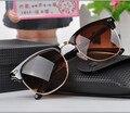 J47 Metade do Clube Da Liga de óculos de Sol Das Mulheres Dos Homens Clássicos de Design Da Marca Mestre dos Espelhos Óculos de Sol Gafas Oculos de sol UV400 Eyewear 3016