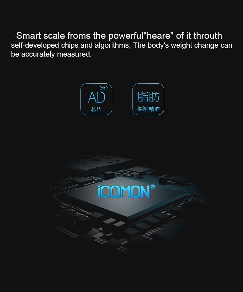 Original Pre mi um Smart Bad Körper Fett Gewicht Waagen Boden mi Körper Zusammensetzung Skala Digitale Balance Bluetooth Waage - 4