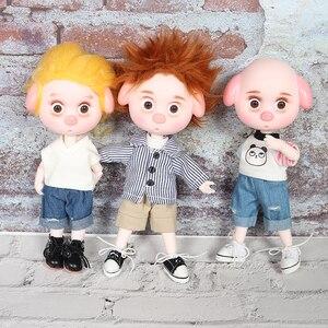 Image 1 - DBS 1/12 BJD 26 шарнирное тело Милая свинья ob11 кукла с одеждой обувью детский подарок 15 см мини кукла имя DODO